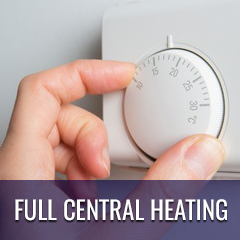 full central heating
